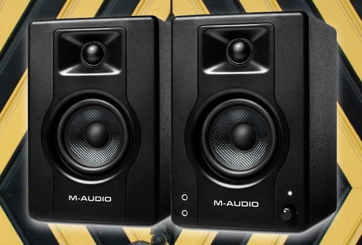 m-audio bx3 bx4 test