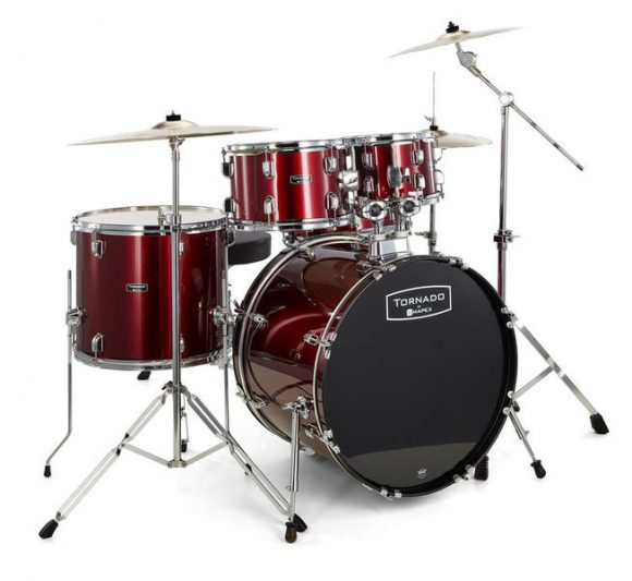 mapex tornado studio set test