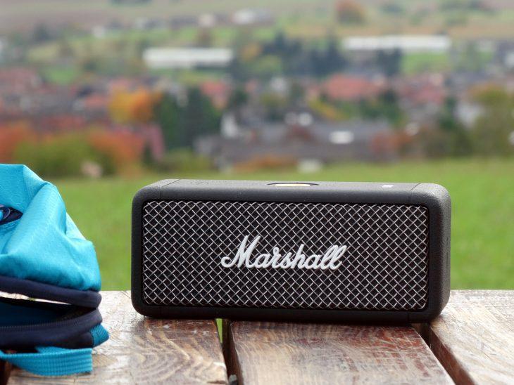 Test: Marshall Emberton Bluetooth Lautsprecher Test: Marshall Emberton Bluetooth Lautsprecher Test: Marshall Emberton Bluetooth Lautsprecher