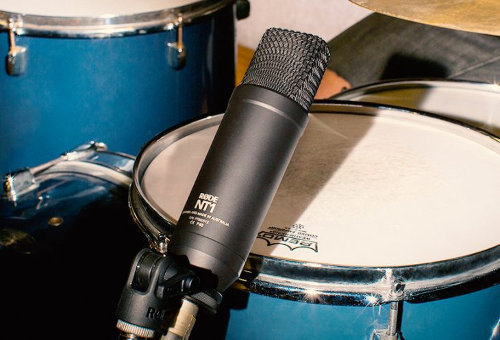 Test: Rode NT1, Großmembran-Kondensatormikrofon