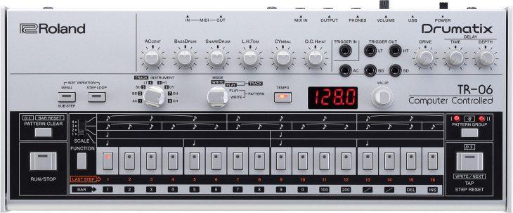 Roland TR-06 Boutique test Drumcomputer