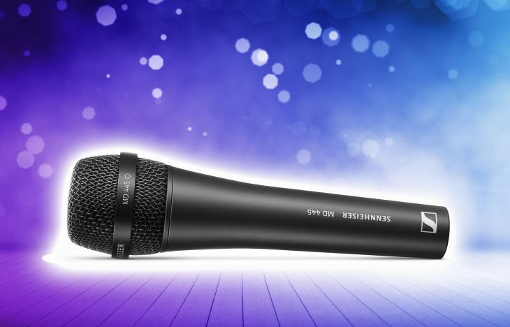 Das neue Sennheiser MD 445 Gesangsmikrofon