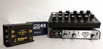 Synthesizer im Studio aufnehmen – in gut!
