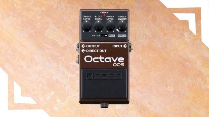 Test Boss Octave OC-5 Octaver Pedal