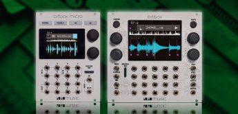 Test: 1010music Bitbox Micro, Bitbox MK2, Eurorack-Sampler