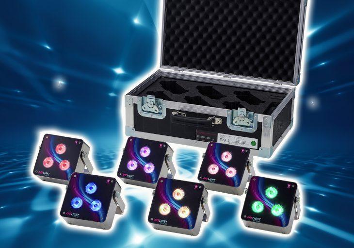 Test: Ape Labs ApeLight maxi Akku LED-Set