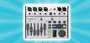 Test: Behringer FLOW 8 Digital Mixer für Stage & Studio