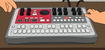 Korg Electribe als Cartoon-Version