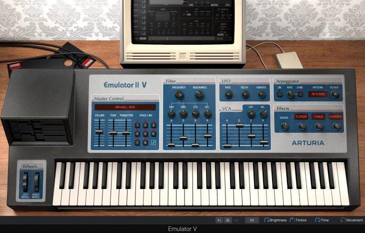 Alles über Arturia Synthesizer, Drumcomputer Plug-Ins