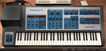 Arturia V Collection 8, Plug-In Bundle mit 28 Synthesizern wie Emulator II
