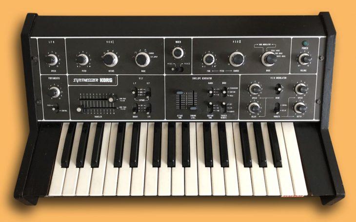 Korg 770 Analogsynthesizer (1976)