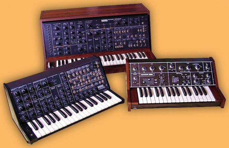 Korg MS-20, Korg PS-3100 und Korg 770