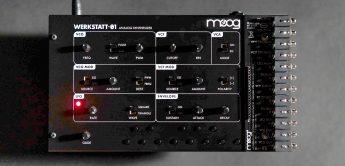 Test: Moog Werkstatt-01 Synthesizer & CV-Expander, DIY
