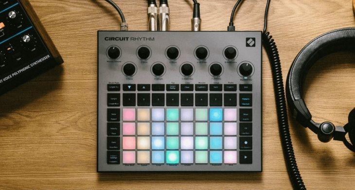 novation circuit rhythm sample groovebox