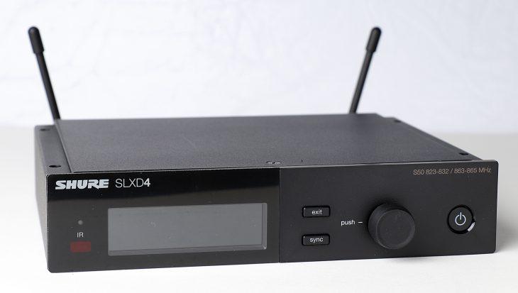 Test: Shure SLX-D Digitales Drahtlossystem