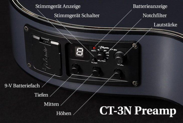 Test: Takamine TSP158C-STR Thinline, Westerngitarre