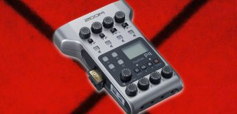 Test: Zoom PodTrak P4, Podcast-Recorder