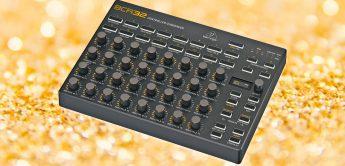 NAMM 2021: Behringer BCR32 Controller, Zaquencer nach BCR2000