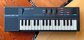 Green Box: Casio SK-Sampler & Synthesizer SK-1 bis SK-2100