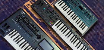 FM-Synthesizer Vergleich: Yamaha Montage, MODX, Elektron Digitone, Korg opsix