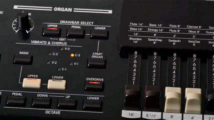 hammond sk pro drawbars organ
