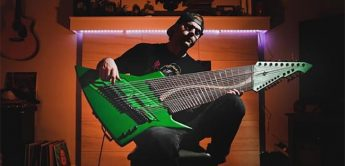 Jared Dines Mountain Dew 20-Saiter E-Gitarre