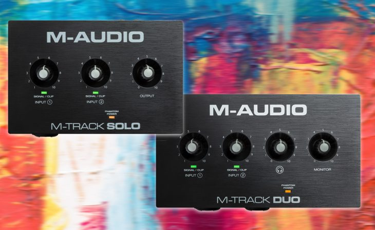 m-audio mtrack solo duo test