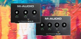 Test: M-Audio M-Track Solo, Duo, USB-Audiointerfaces