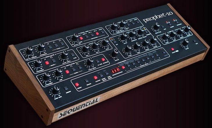 sequential prophet-10 desktop synthesizer