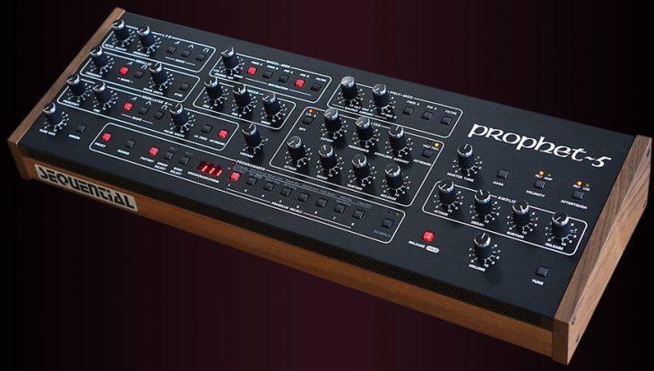 sequential prophet-5 desktop synthesizer