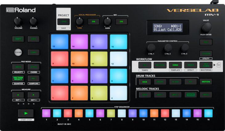 roland verselab mv-1 groovebox