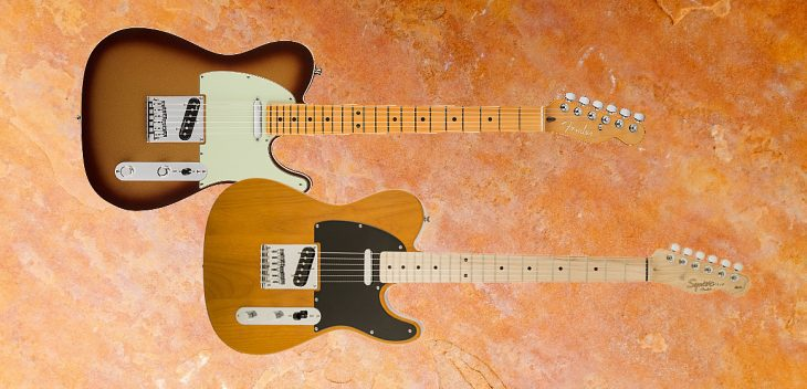 Vergleichstest: Fender American Ultra vs. Squier Telecaster