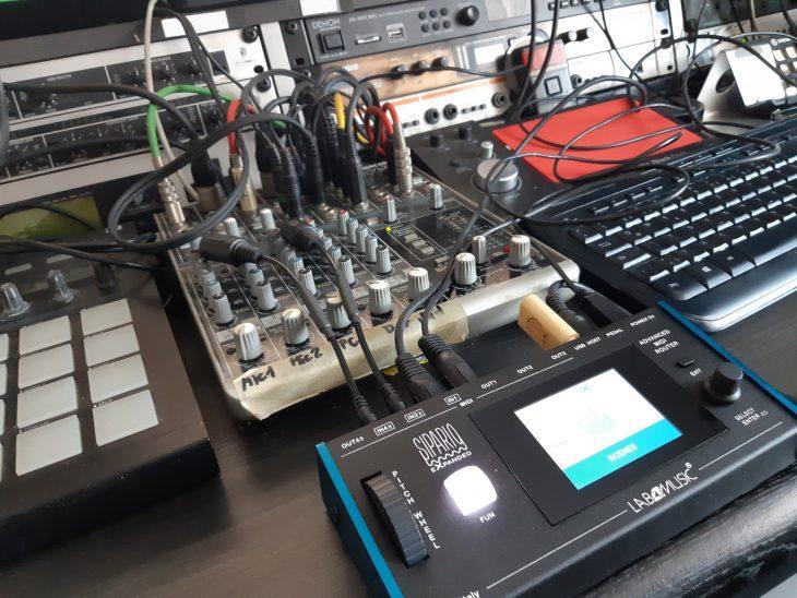 labs4Music SiparioX - studio1 test