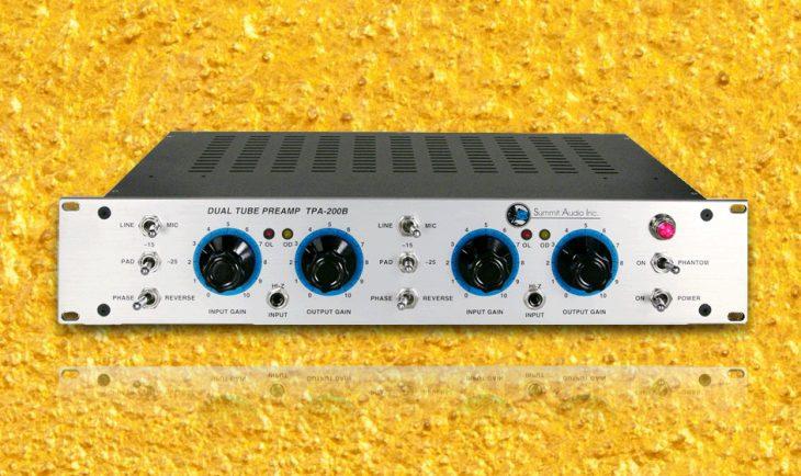 summit audio tp 200b test
