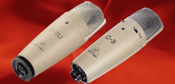 Test: Behringer C-1U, C-3, Kondensator-Großmembranmikrofone