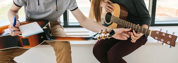 Wie kann man Gitarre lernen?