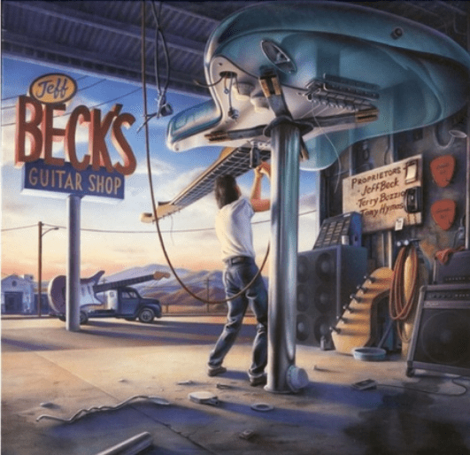 Jeff Beck - Guitar Shop Albumcover