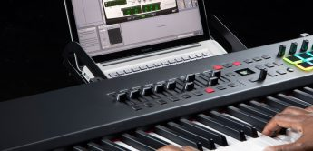 Neues MIDI-Controllerkeyboard mit 88 Tasten: M-Audio Hammer 88 Pro