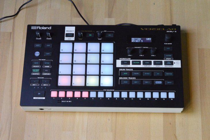 Roland MV-1 Verselab test