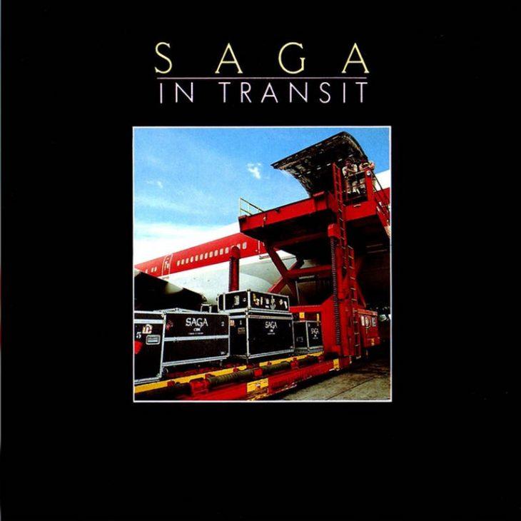 Saga - In Transit Albumcover