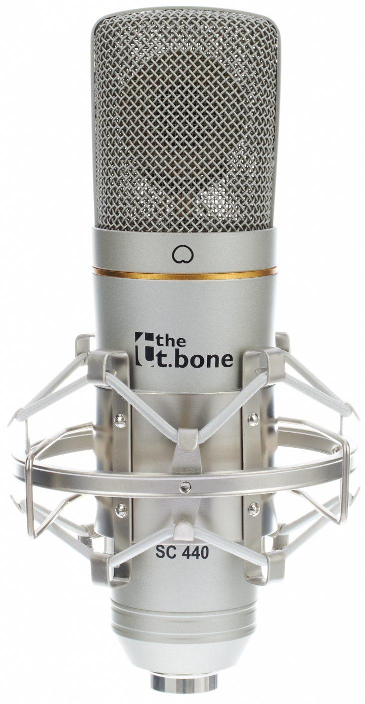 the tbone sc440 podcast bundle mikrofon
