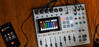 Test: Zoom PodTrak P8, Podcast-Recorder-Mixer