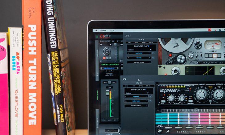 antelope audio zen go audiointerface test