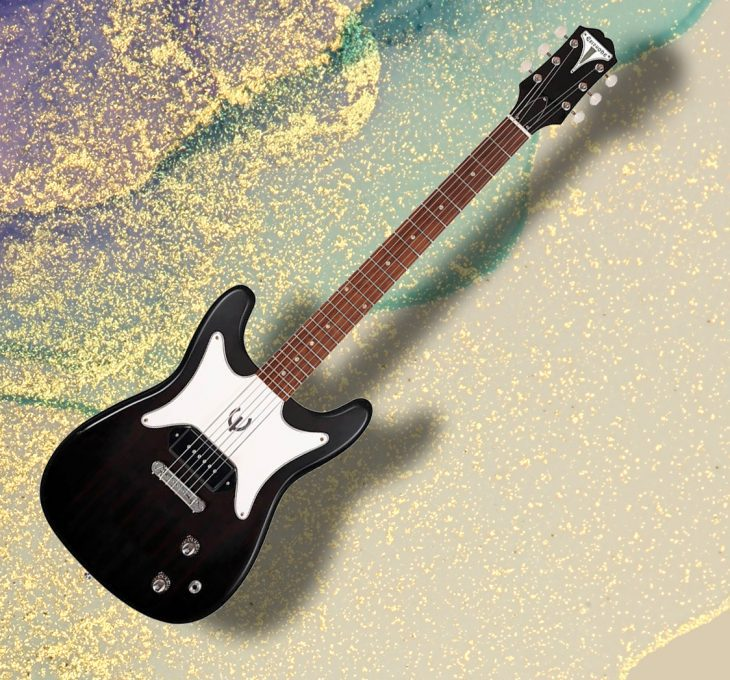 Epiphone Coronet Ebony, E-Gitarre