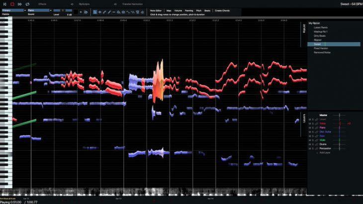 hit n mix infinity audio editor