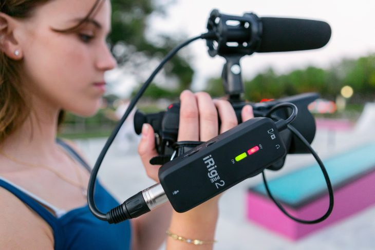 IK Multimedia iRig Pre 2 test