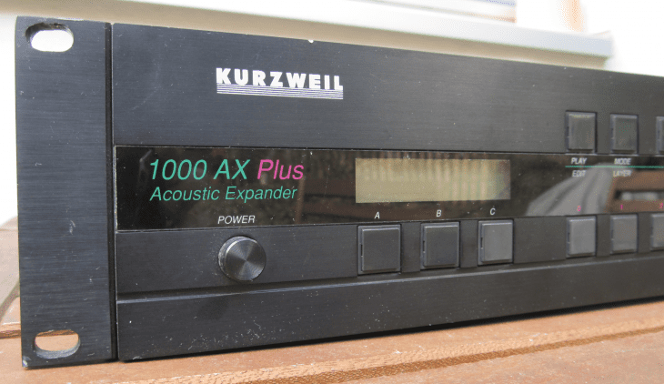 KurzweilK100AX+ (lowq Leser-Photos)