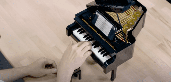 Spielbares Mini-Klavier aus Lego