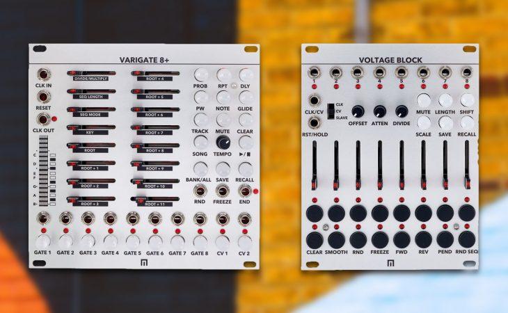 malekko varigate voltage block test eurorack sequencer
