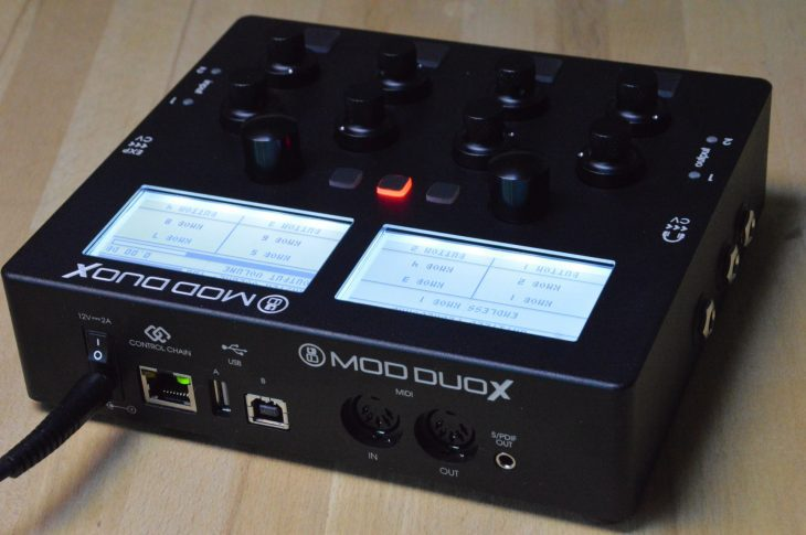 MOD Devices MOD DUO X test